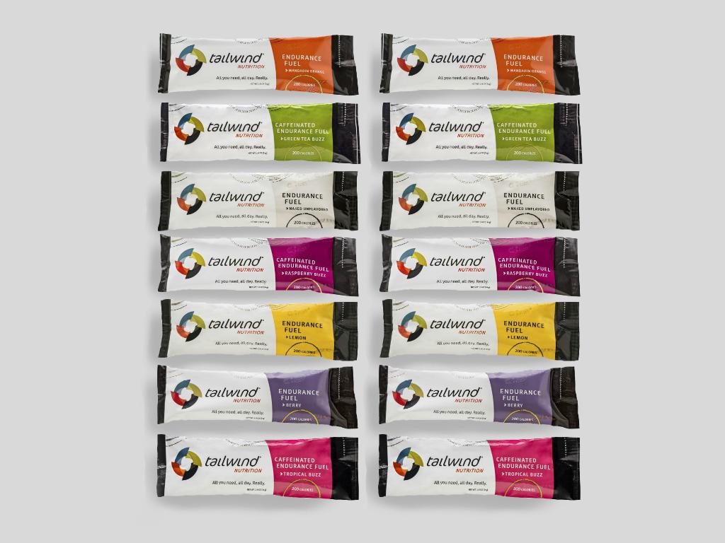Tailwind Nutrition sportdryck prova på paket, 14 goda smaker