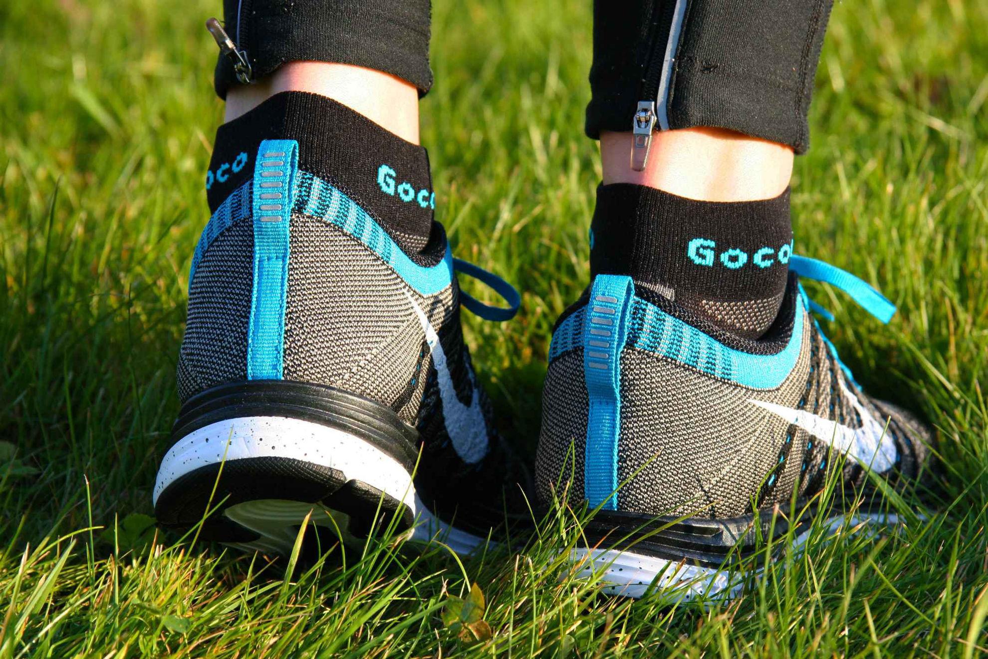 Gococo Löparstrumpa Light Sport natur 1
