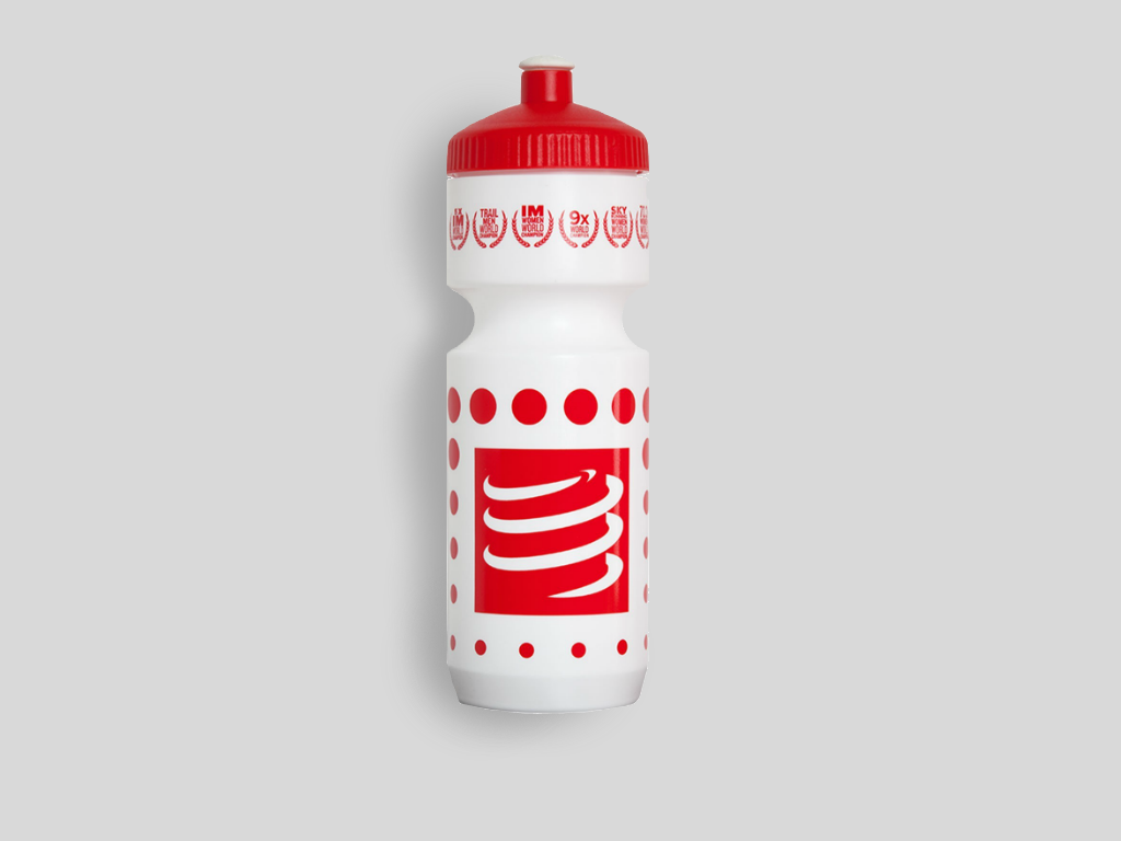Compressport Vattenflaska 750ml Vit