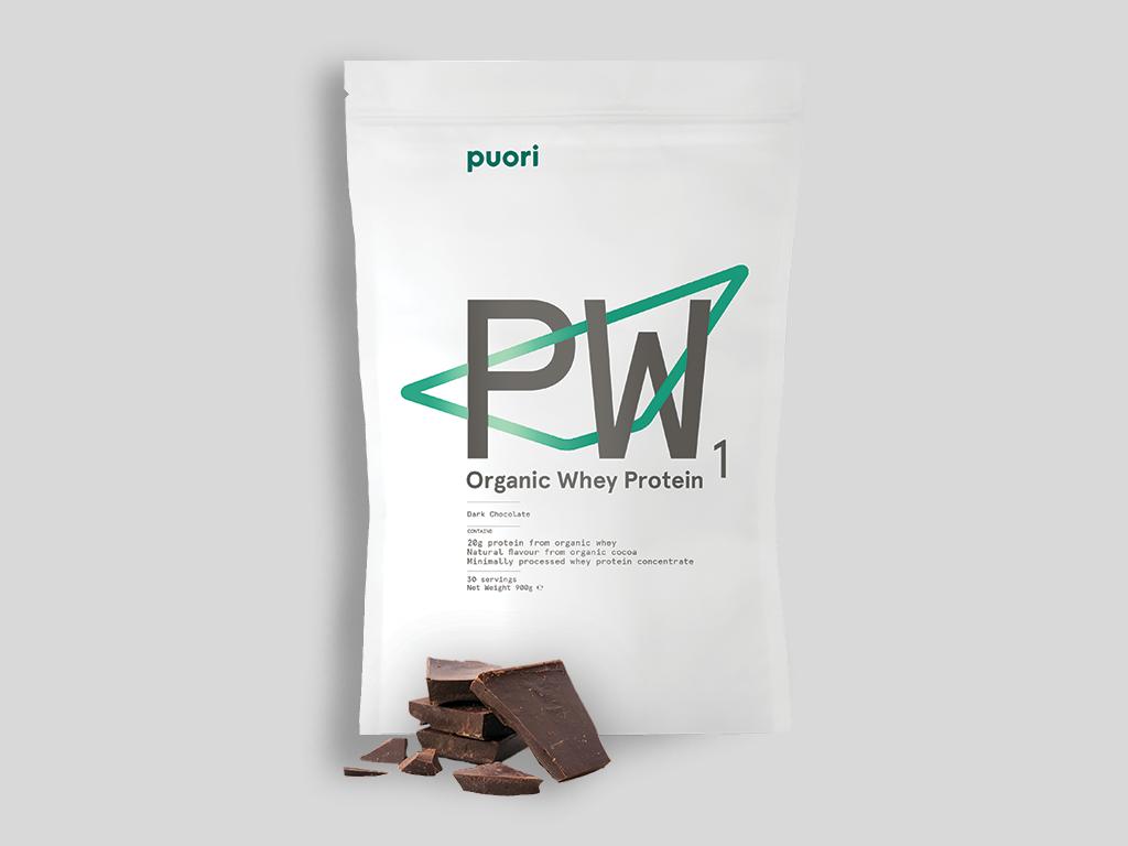 Puori PW1 Whey Protein Choklad ekologisk - 900 g