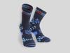 Compressport Löparstrumpor Racing Socks V2.1 Winter Run blue