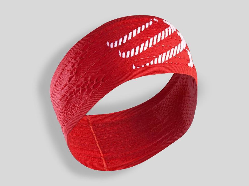 Compressport Pannband / Headband ON/OFF Röd