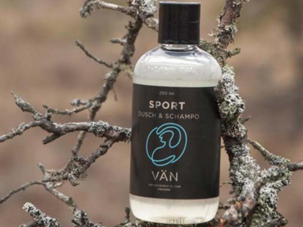 kroppsvänlig och Naturvänlig Duschtvål och schampo från VÄN Sweden