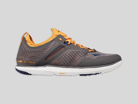 Altra Kayenta-M Gray/Orange - lätt löparsko för träning på asfalt/grus herrmodell<
