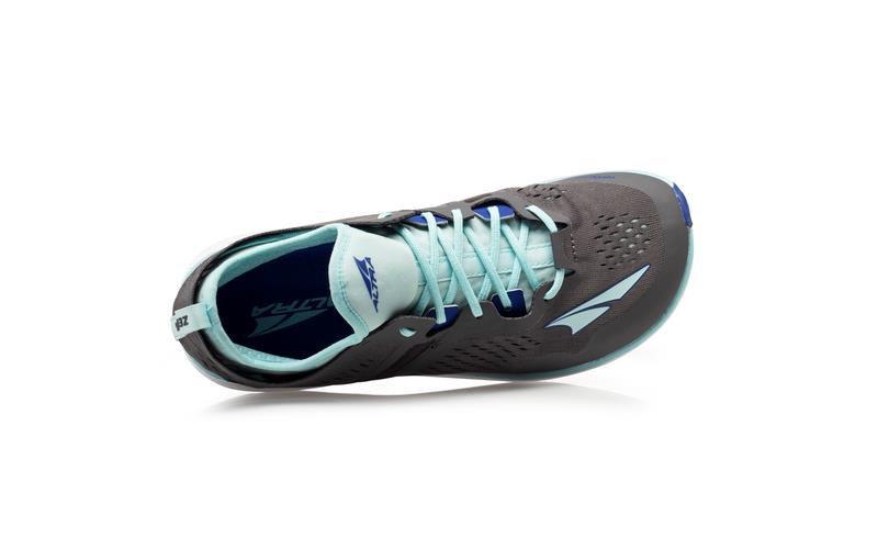 Altra Kayenta-W Gray/Blue - lätt löparsko för träning på asfalt/grus dammodell