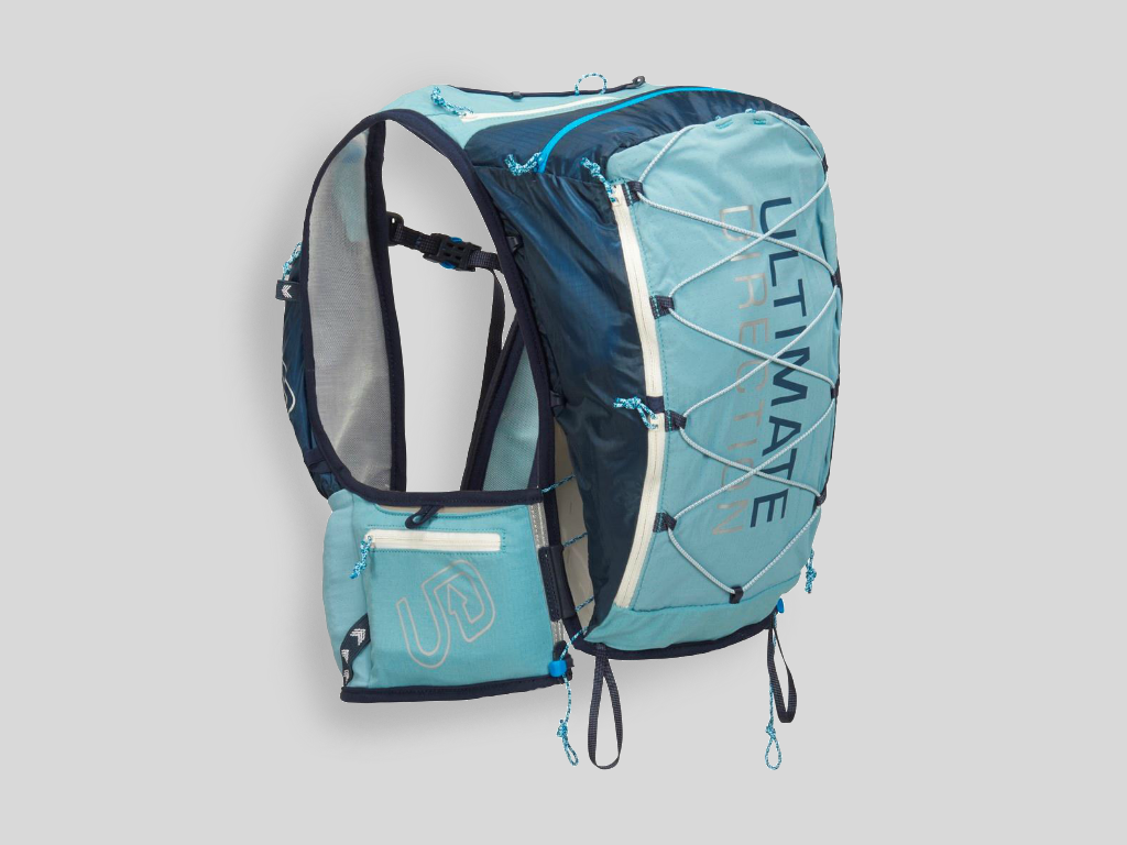 Ultimate Direction Adventure Vesta 4.0 LICHEN - Löparväst dam 12,4 L inkl softflask