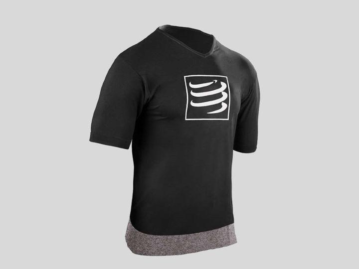 Compressport Training T-shirt Black