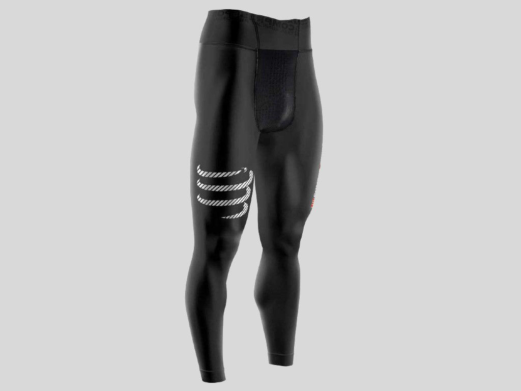Compressport Multisport Full Tights Black