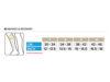 Compressport vadskydd Calf R2 v2 storlekstabell