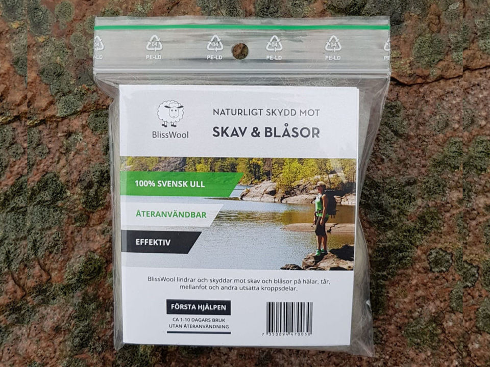 Blisswool - istället för skavsårsplåster