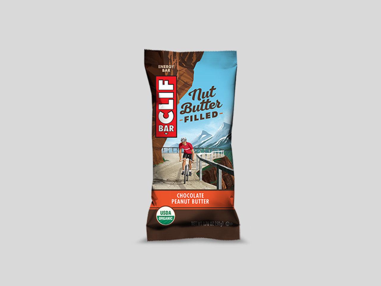 ClifBar energibar 1x68gr Nut Butter Filled - Chocolate Peanut Butter
