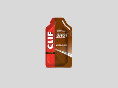 ClifBar Shot Gel energigel - Choklad