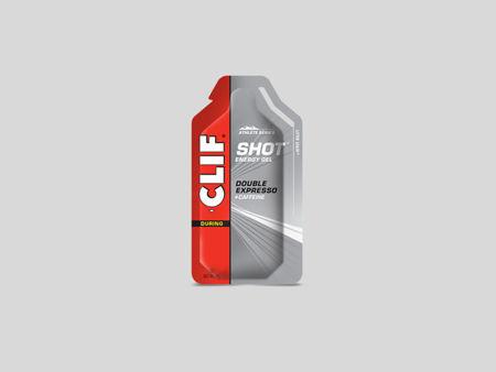 ClifBar Shot Gel energigel 2x koffein- Double espresso<
