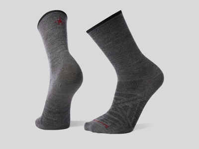 Smartwool PhD® Outdoor Ultra Light Crew - Gray