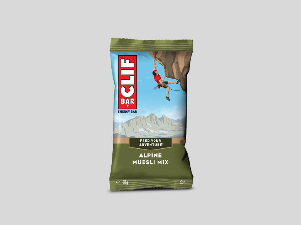 ClifBar energibar 1x68gr - Alpine Muesli Mix