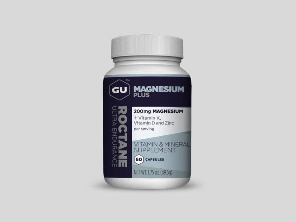 GU Magnesium Plus 60 Kapslar