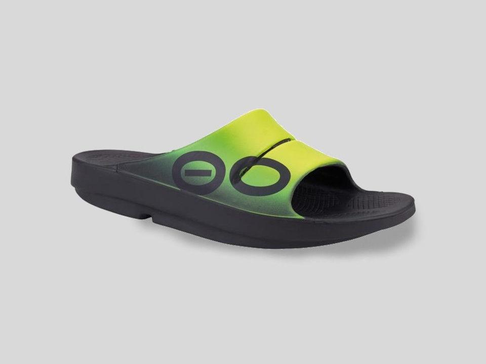 Oofos Sandal Ooahh Sport Slide Fuzion - För återhämtning