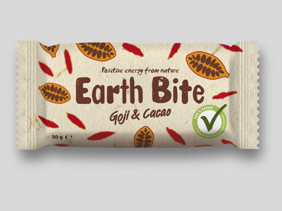 Earth Bite Energibar - Goji & Cacao