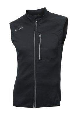 Fr�n Norska Aclima kommer WoolShell Vest  i finaste Merinoull. F�rgen heter Jet Black och finns i storlek: XS-2XL. Passar b�st till Herr