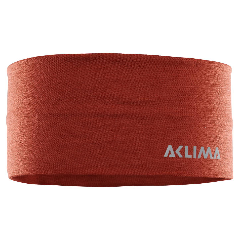 Aclima LightWool Headband U Onesize i Merinoull. Ochre