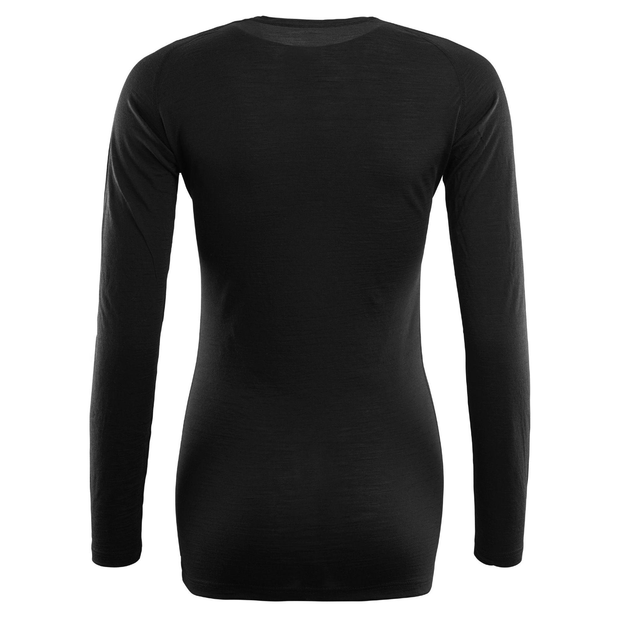 Bild på Aclima LightWool Crew Neck shirt, Wom i Merinoull - Jet Black