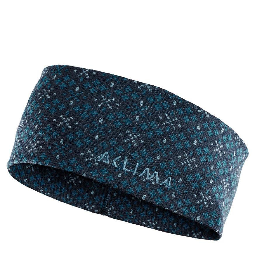 Aclima DesignWool GLITRE Headband U i Merinoull. Einer