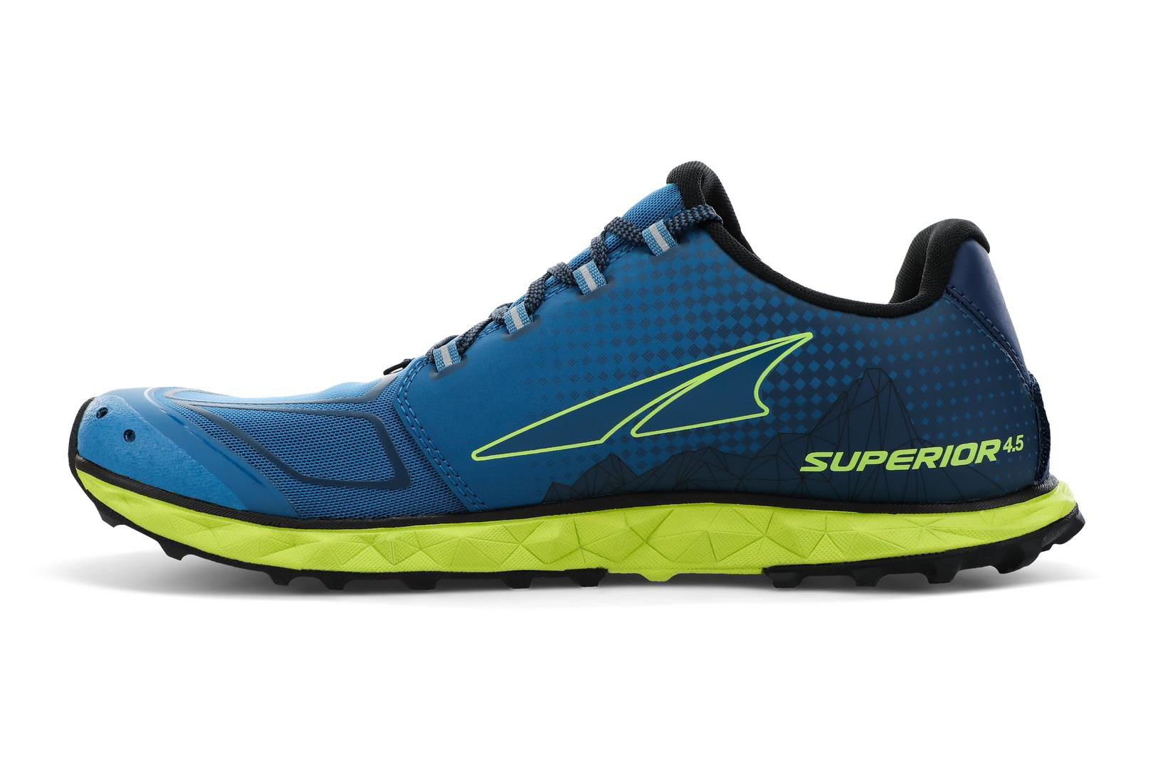Altra Superior 4.5-M BLUE/LIME 40