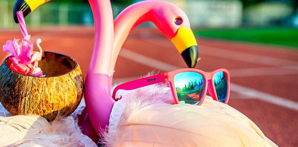 Goodr Flamingos on a Booze Cruise - Sportglasögon
