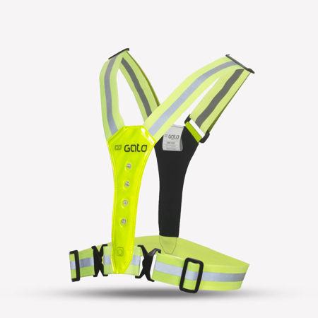 GATO Sports LED Safer Sport Vest - Reflexväst Neon<