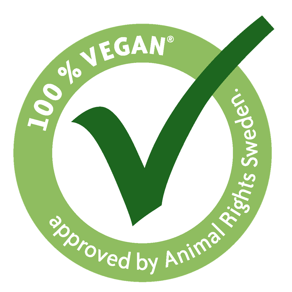 Vegan 100% proof